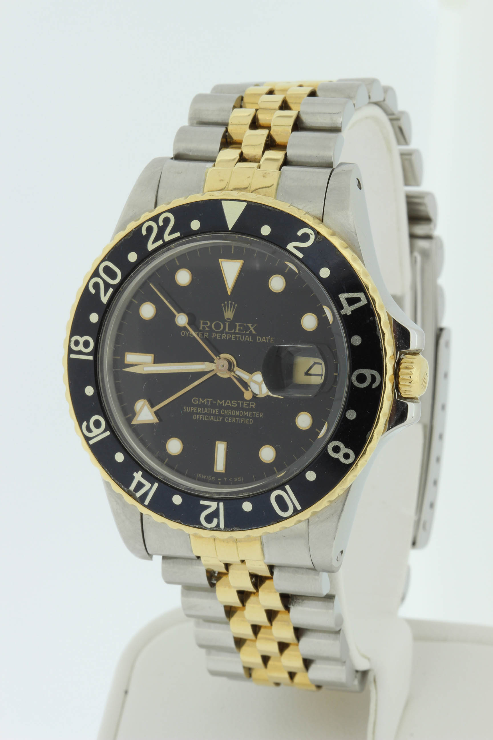 Rolex Gents 18k and Stainless Steel GMT Master