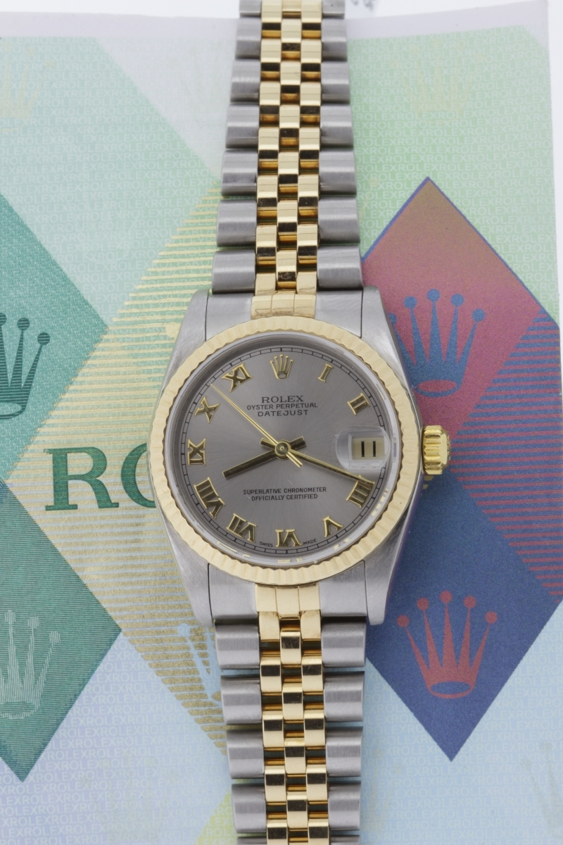 Ladies Datejust, 2005, papers