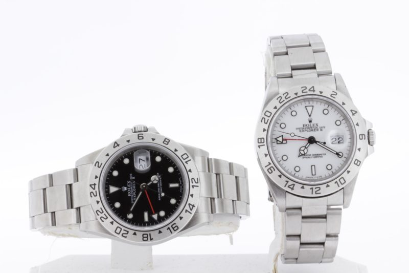 featured image for Rolex Explorer II: White dial v. Black dial