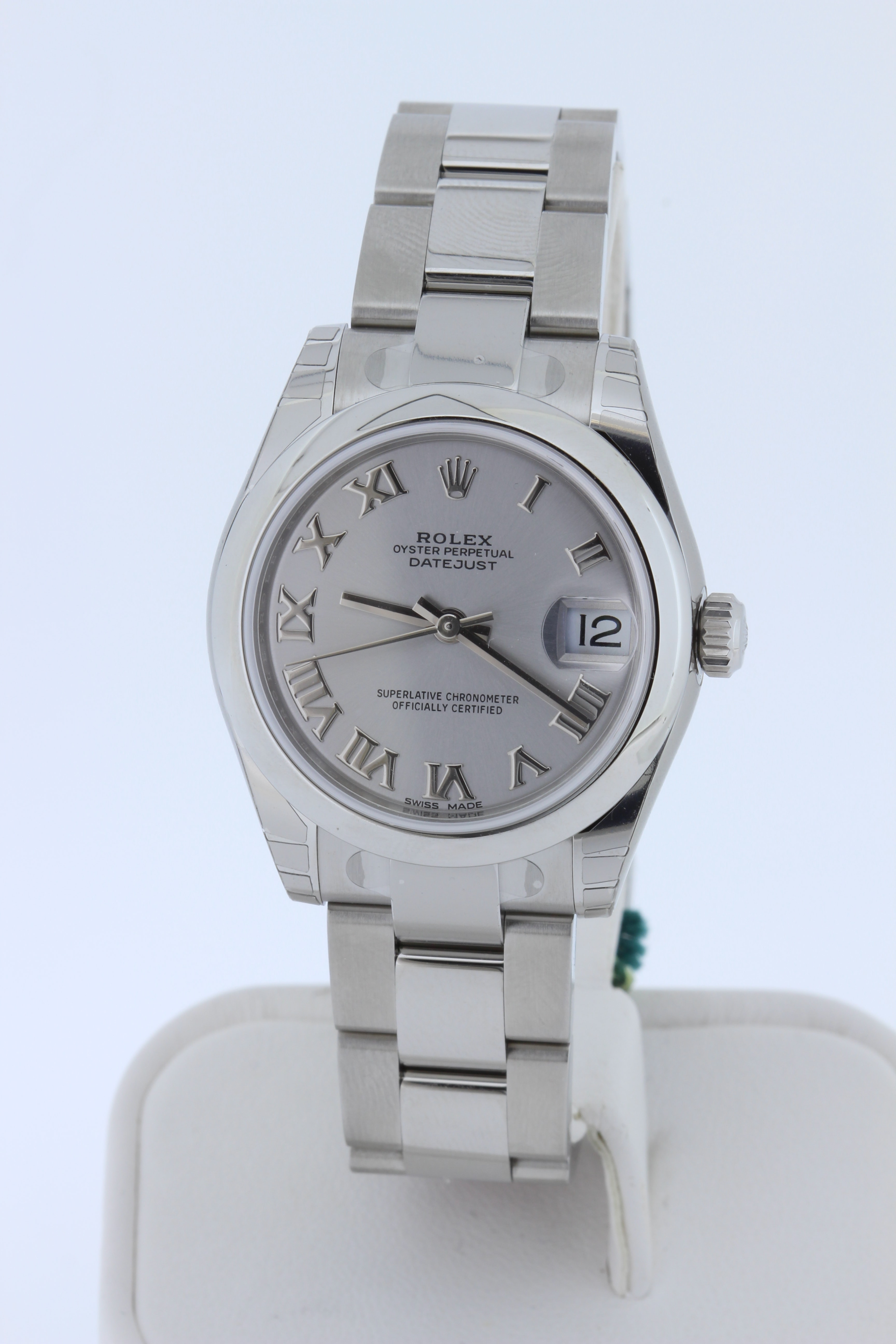Mid-size Datejust, Box & Papers, 2019, Plastic still on
